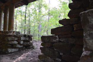 Caddo Lake Pavilion stones