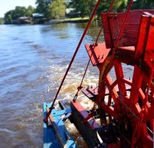 Paddle Wheel moving
