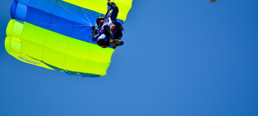 One Tandem Jump: Who was I kidding?