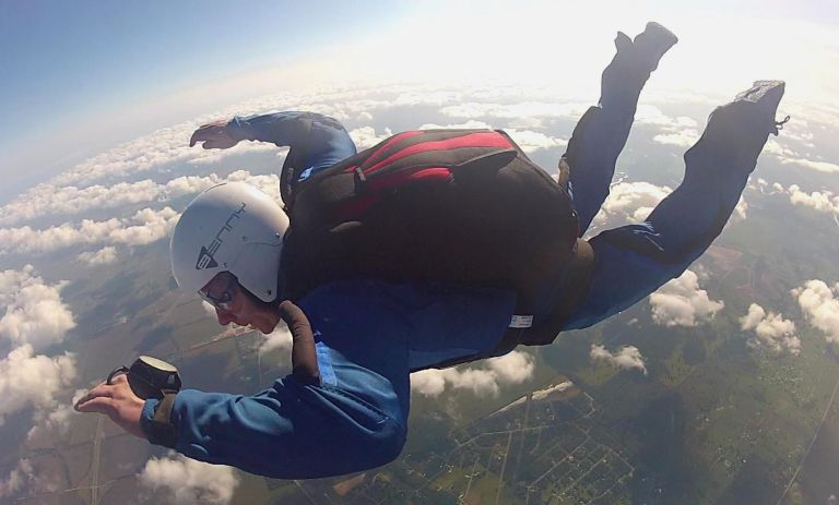 skydive student program
