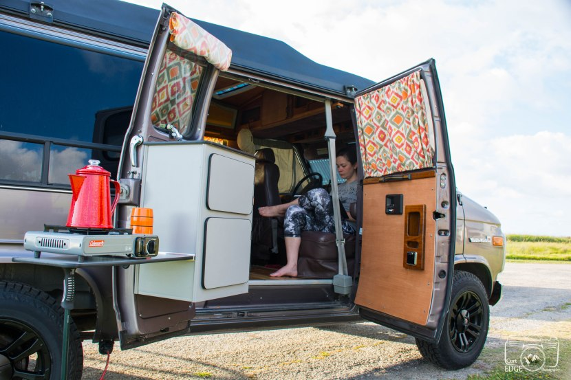 Solar Campervan/ stepping off