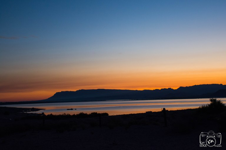 curt edge sunset