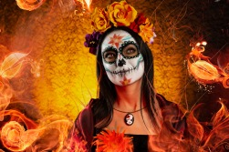 day of the dead women
